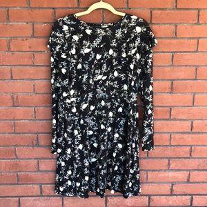 🌵NEW! Topshop floral skater style dress